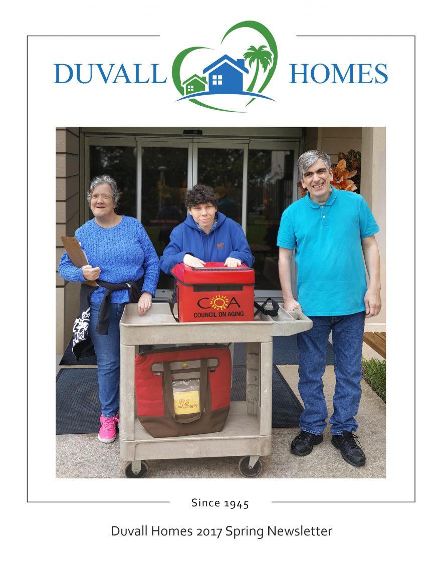 Duvall Homes Newsletter