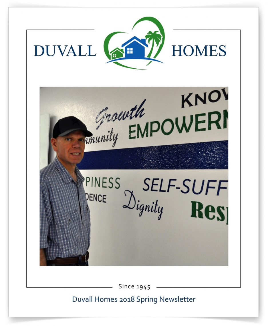 Duvall Homes Newsletter