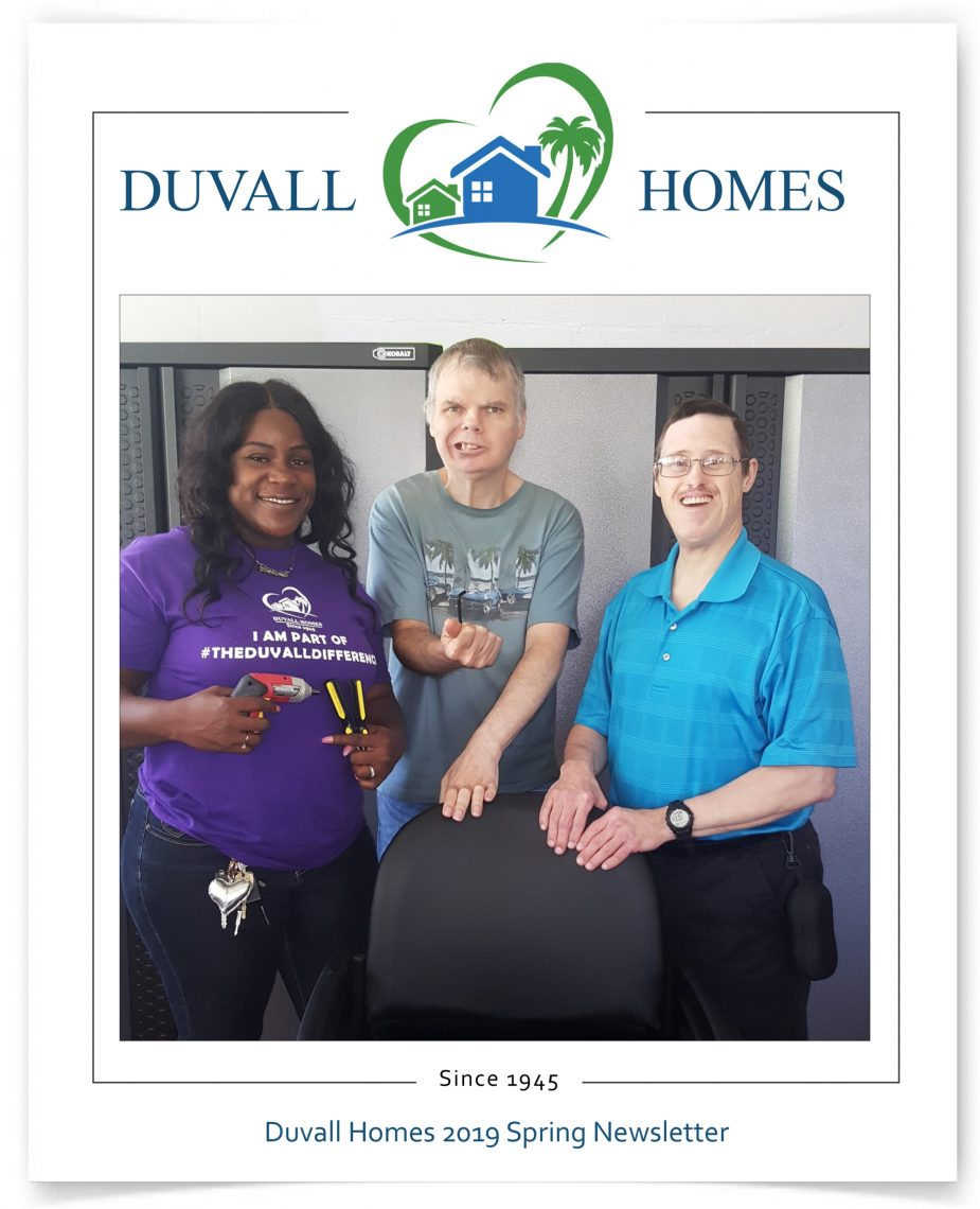 2019 Duvall Homes Newsletter