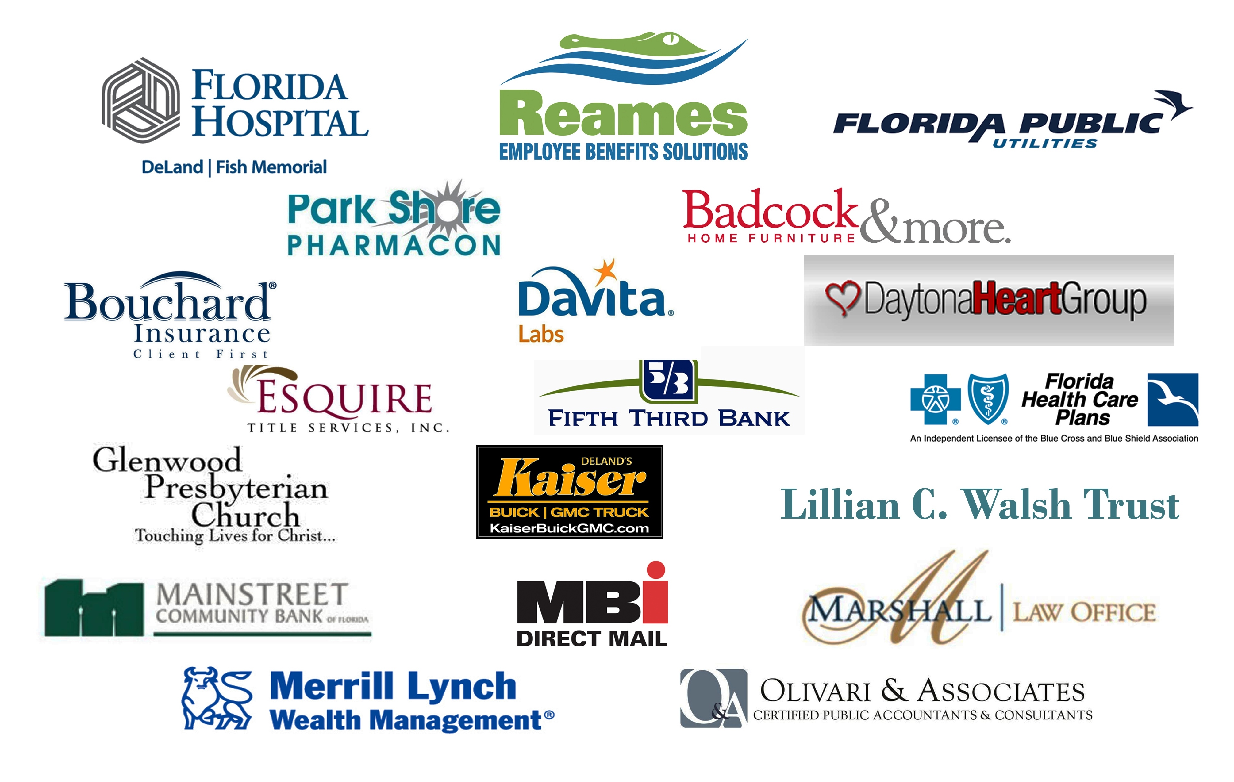 Thank You Inspiration Gala Sponsors & Silent Auction Donors