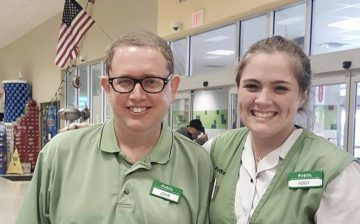 Volunteering at Publix