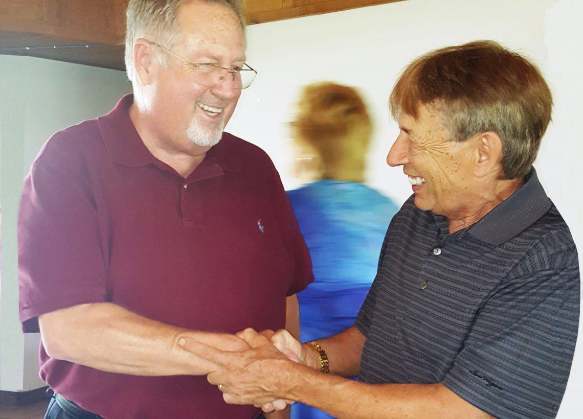 Steven DeVane and Larry Hopper