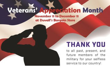 Veterans Appreciation Month