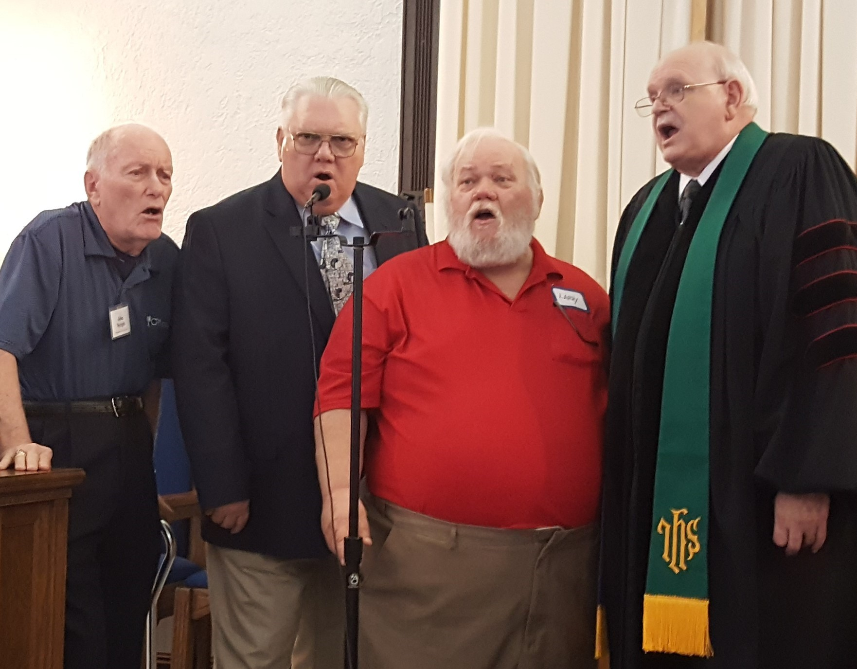 Weirsdale Pastor Laseter